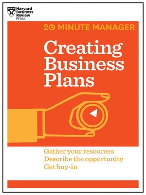 cover image of Creating Business Plans