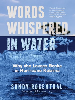 cover image of Words Whispered in Water