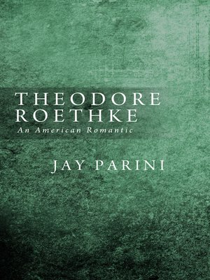 cover image of Theodore Roethke