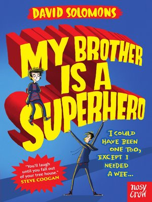 cover image of My Brother is a Superhero