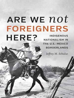 cover image of Are We Not Foreigners Here?