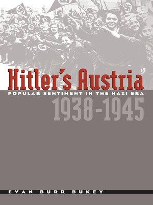 cover image of Hitler's Austria