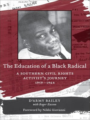cover image of The Education of a Black Radical