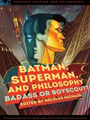 cover image of Batman, Superman, and Philosophy