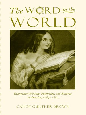 cover image of The Word in the World