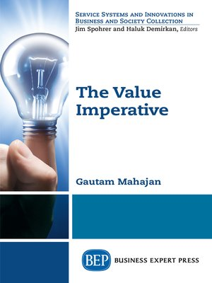 cover image of The Value Imperative