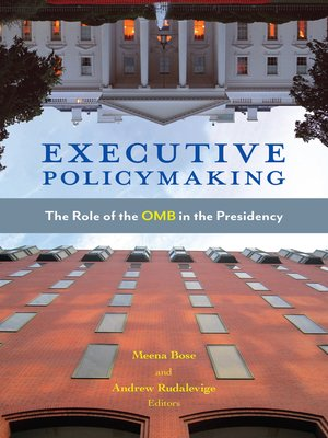 cover image of Executive Policymaking