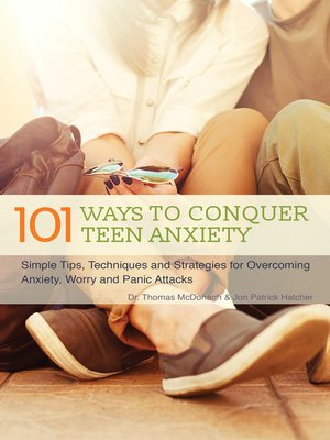 cover image of 101 Ways to Conquer Teen Anxiety