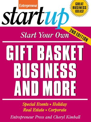 cover image of Start Your Own Gift Basket Business and More