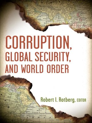 cover image of Corruption, Global Security, and World Order