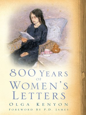 cover image of 800 Years of Women's Letters