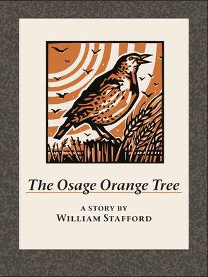 cover image of The Osage Orange Tree