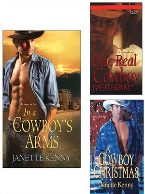 cover image of In a Cowboy's Arms Bundle with One Real Cowboy & a Cowboy Christmas