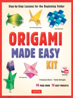 cover image of Origami Made Easy Ebook