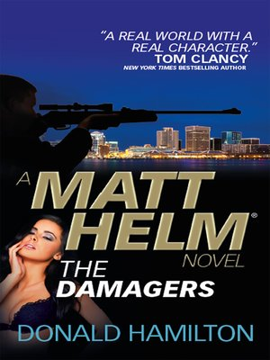 cover image of Matt Helm the Damagers