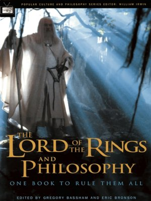 cover image of The Lord of the Rings and Philosophy