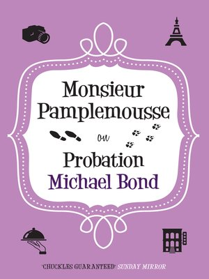 cover image of Monsieur Pamplemousse on Probation