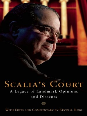 cover image of Scalia's Court
