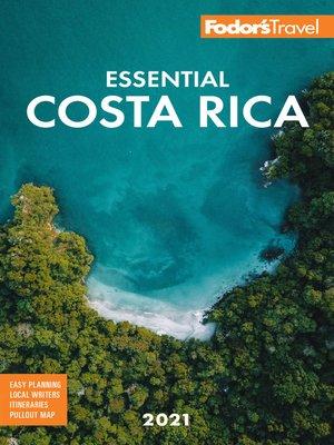 cover image of Fodor's Essential Costa Rica