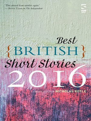 cover image of Best British Short Stories 2016
