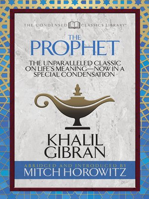 cover image of The Prophet (Condensed Classics)