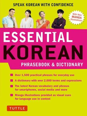 cover image of Essential Korean Phrasebook & Dictionary