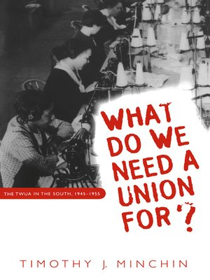cover image of What Do We Need a Union For?