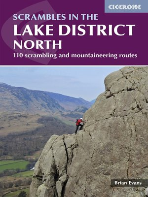 cover image of Scrambles in the Lake District--North