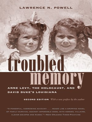 cover image of Troubled Memory