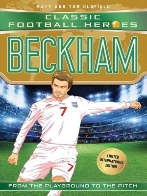 cover image of Beckham (Classic Football Heroes--Limited International Edition)