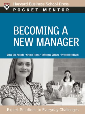 cover image of Becoming a New Manager