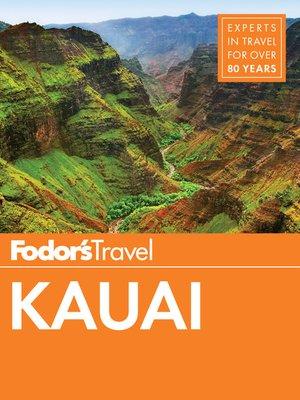 cover image of Fodor's Kauai