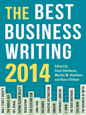cover image of The Best Business Writing 2014