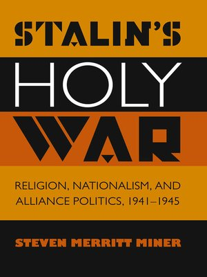 cover image of Stalin's Holy War