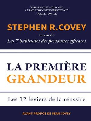 cover image of La Première Grandeur