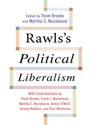 cover image of Rawls's Political Liberalism