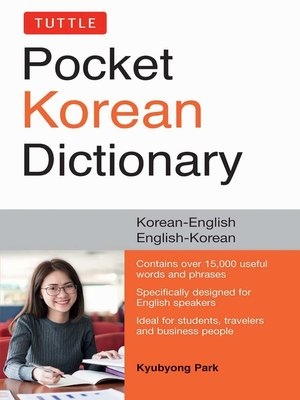 cover image of Tuttle Pocket Korean Dictionary