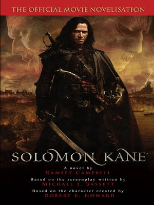cover image of Solomon Kane--The Official Movie Novelization
