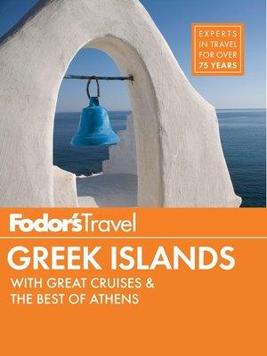 cover image of Fodor's Greek Islands