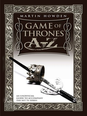 cover image of Games of Thrones A-Z