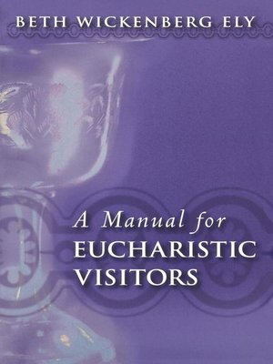 cover image of A Manual for Eucharistic Visitors