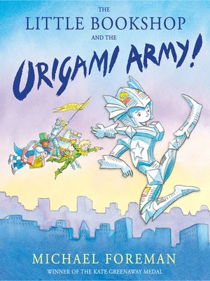 cover image of The Little Bookshop and the Origami Army