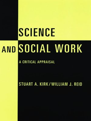 cover image of Science and Social Work