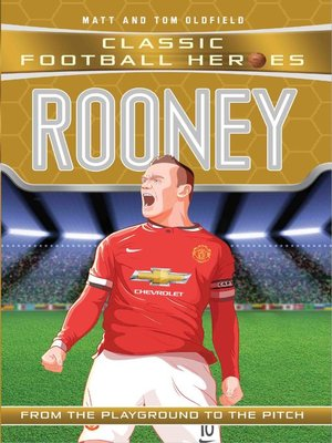 cover image of Rooney (Classic Football Heroes)--Collect Them All!