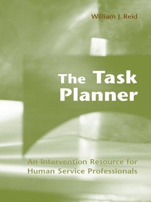 cover image of The Task Planner