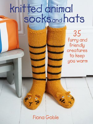 cover image of Knitted Animal Socks and Hats