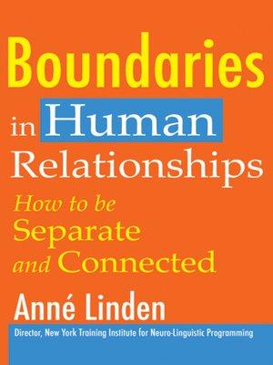 Boundaries in dating ebook