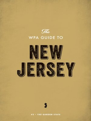 cover image of The WPA Guide to New Jersey