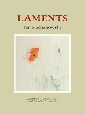 cover image of Laments