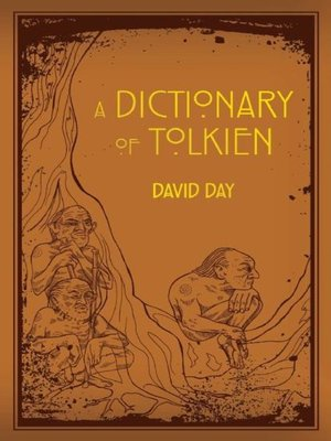 cover image of A Dictionary of Tolkien